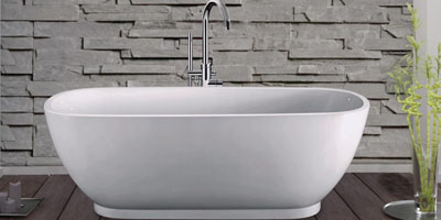 Clawfoot tub buying guide vintage tub bath for Cast iron tubs vs acrylic