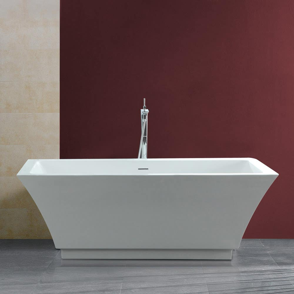 white universal xxx bux soaking drain with reversible lifestyle faucet luxura inch in x jacuzzi drop bathtub com