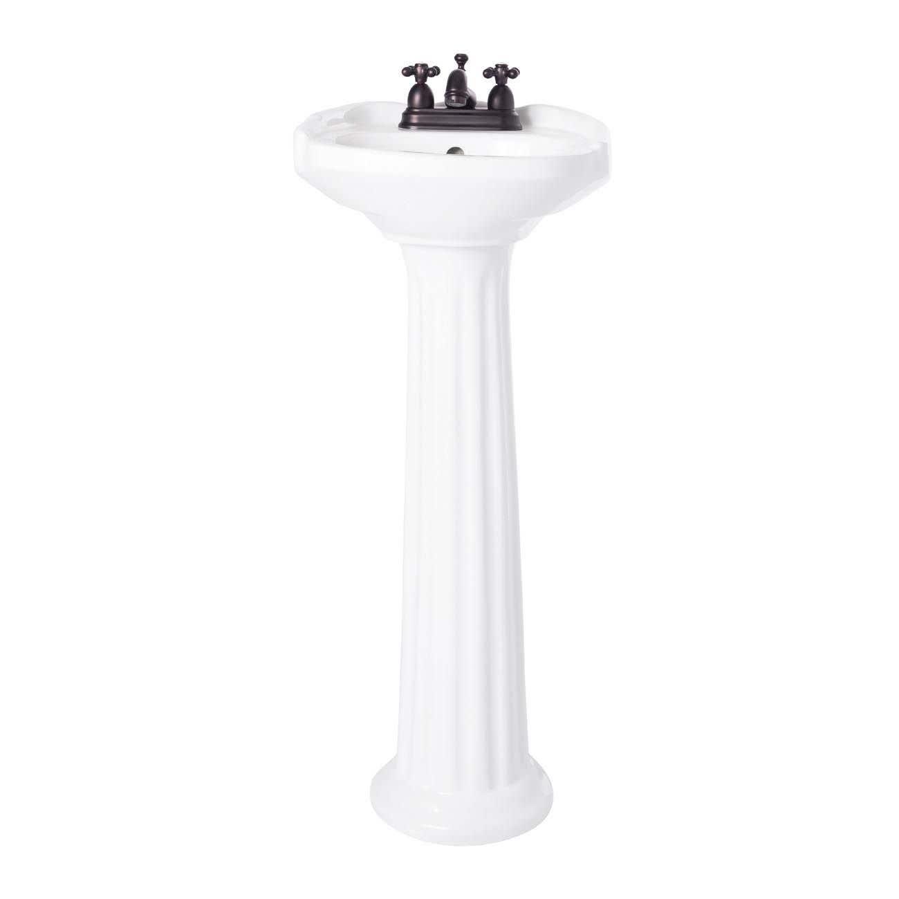 Calvo 15 Inch Pedestal Sink