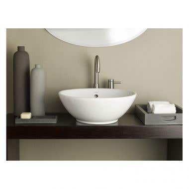 Cheviot Water Lily Round Overcounter Bath Sink