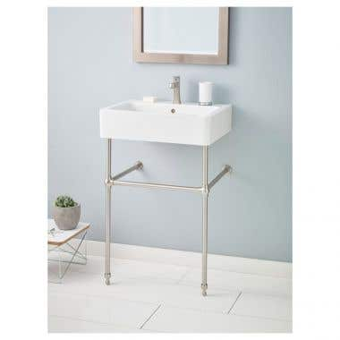 Cheviot Nuovella Console Lavatory Sink - Single Hole Faucet Drilling