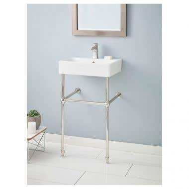 Cheviot Nuo Console Lavatory Sink - Single Hole Faucet Drilling