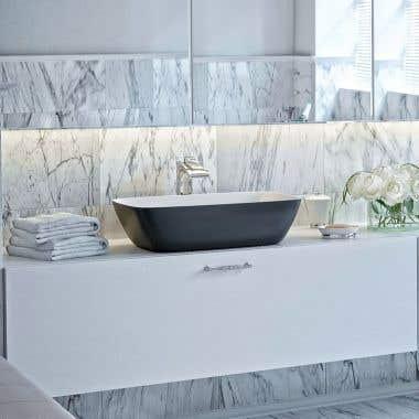Aquatica Arabella AquateX Rectangular Vessel Bathroom Sink