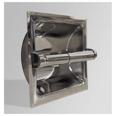 Banner Recessed Toilet Tissue Holder without Mounting Bracket