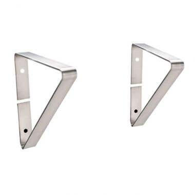 Whitehaus Optional Extra Support Brackets for Noah Collection Utility Sink WHNCMB4413