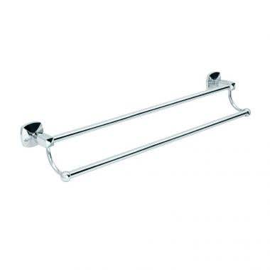Gatco Jewel Collection 24 Inch Double Towel Bar