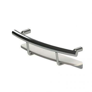HealthCraft Invisia Collection Shampoo Shelf Grab Bar
