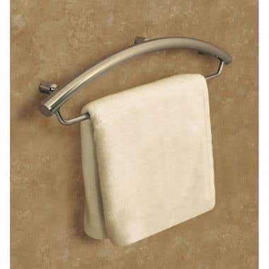 HealthCraft Invisia Collection Integrated 16 Inch Towel bar Grab Bar