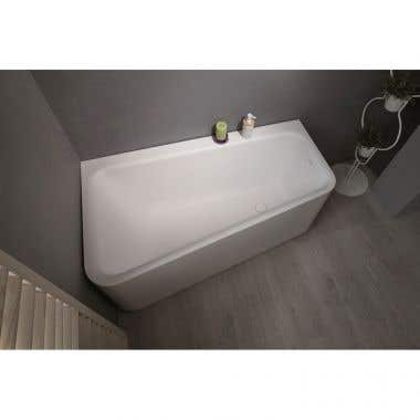 Aquatica Jane AquaStone 59 Inch Corner Solid Surface Bathtub
