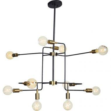 Ren-Wil Europa 10 Light Ceiling Fixture