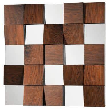 Ren Wil Westside 36 Inch Square Mirror