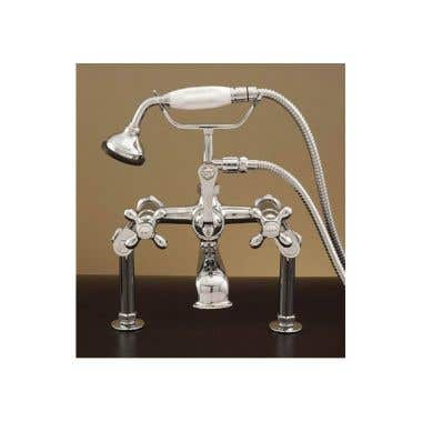 Strom Plumbing Deck Mounted English Telephone Clawfoot Tub Faucet