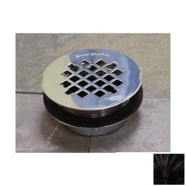 *ONLY ONE AVAILABLE* Strom Plumbing Shower Pan Drain - Oil Rubbed Bronze