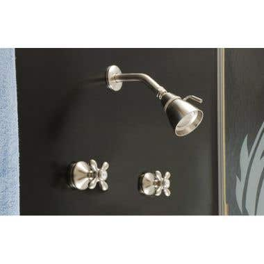 Strom Plumbing Sacramento Shower Only Set with Cross Handle