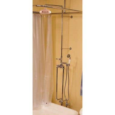 Strom Plumbing Exposed Freestanding Thermostatic Shower Faucet