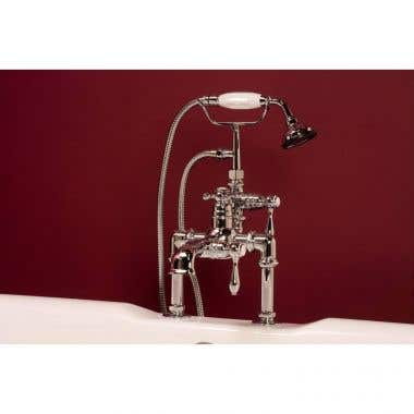Strom Plumbing Deck Mount Thermostatic Tub Faucet
