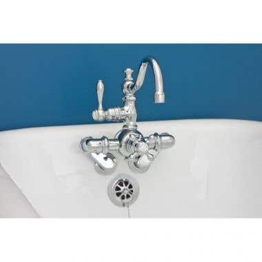 Strom Plumbing Thermostatic Arch Spout Tub Faucet
