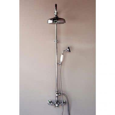 Strom Plumbing Thermostatic Shower Set with Handheld Shower