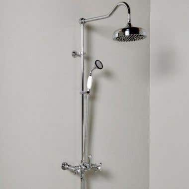Strom Plumbing Exposed Shower Set with Handheld Shower
