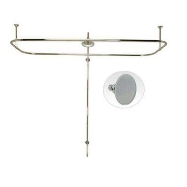 Randolph Morris Side Mount Shower Conversion Kit with Showerhead