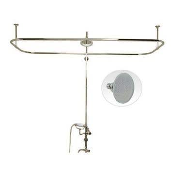 Randolph Morris Side Mount Shower Conversion Kit with Handshower Cradle and Showerhead