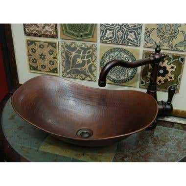 Sierra Copper Cimarron 18 Inch Vessel Sink