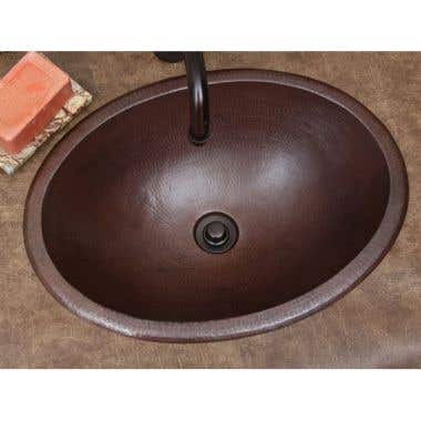 Sierra Copper Classic Collection 19 Inch Bath Sink
