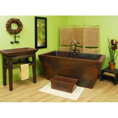Sierra Copper Lexington 65 Inch Double Thick Tub