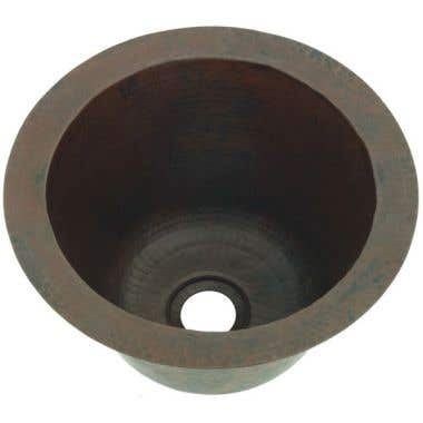 Sierra Copper Trenton Round 10 Inch Bar Sink