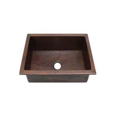 Sierra Copper Windsor Collection 25 Inch Sink