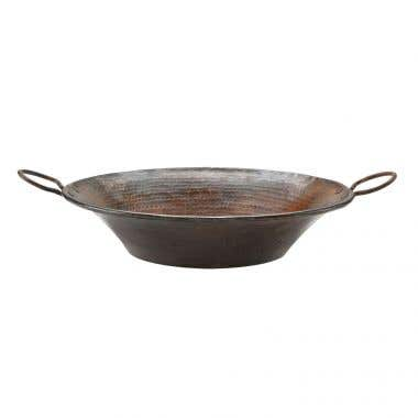 Premier Copper Products Round Miners Pan Vessel Copper Sink