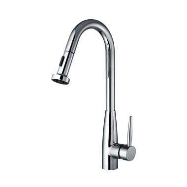 Whitehaus Jem Collection Single Hole Faucet Pull Down Spray Head