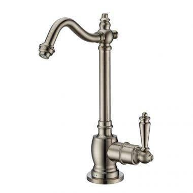 Whitehaus Collection Point of Use Cold Water Drinking Faucet with Traditional Swivel Spout