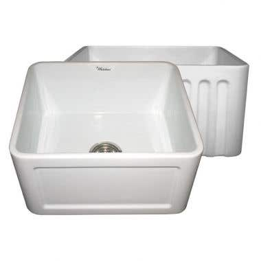 Whitehaus Reversible Series Fireclay Kitchen Sink