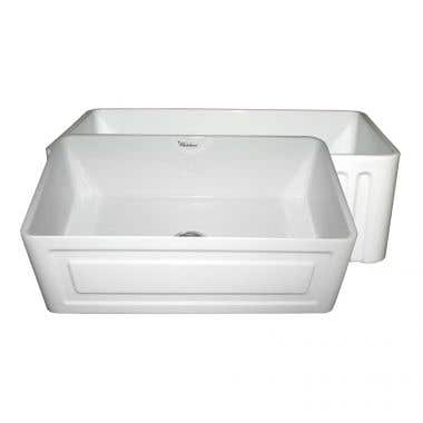 Whitehaus Reversible Fireclay Sink