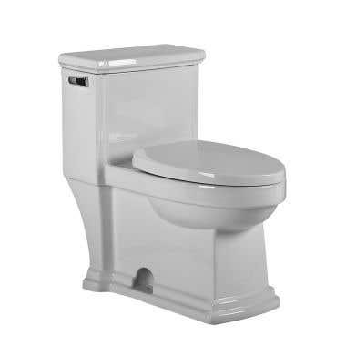 Whitehaus Collection Magic Flush Eco-Friendly One Piece Single Flush Toilet