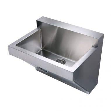 Whitehaus Noah Collection 30 Inch Commercial Wall Hung Laundry Sink