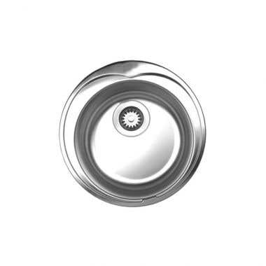 *ONLY ONE AVAILABLE* Whitehaus Drop In Kitchen Sink - Brushed Stainless Steel