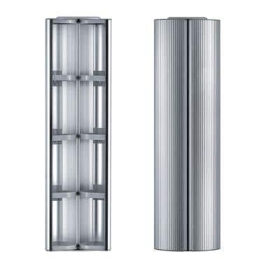 Whitehaus 63 Inch Vertical Wall Mount Storage Cabinet