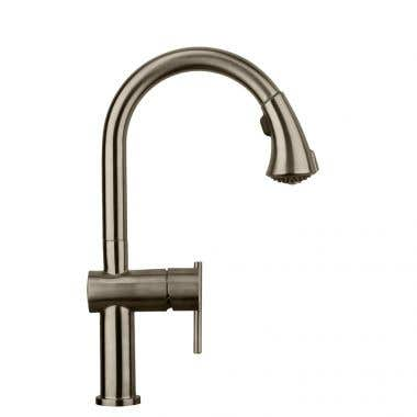 Whitehaus Waterhaus Single Hole Gooseneck Kitchen Faucet