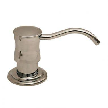 Whitehaus Vintage III Solid Brass Soap and Lotion Dispenser