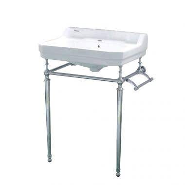 Whitehaus Victoriahaus 24 Inch Console Bathroom Sink
