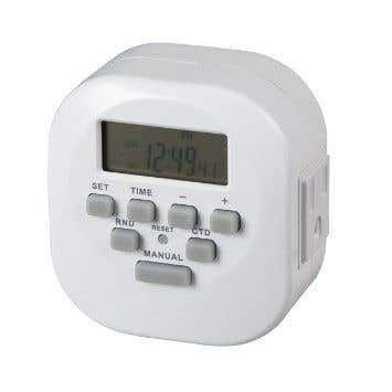 Amba Plug-In Programmable 7 Day Timer for Towel Warmer