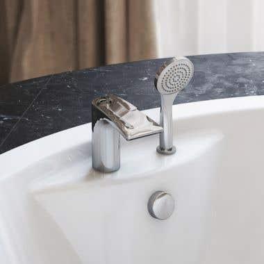 Aquatica Bollicine 2 Hole Deck Mounted Bath Filler