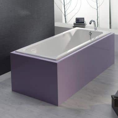 Cheviot 67 Inch Cast Iron Drop In Tub - No Faucet Drillings