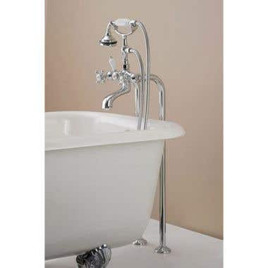 Cheviot Freestanding Claw Foot Tub Hand Shower Faucet
