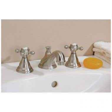 Cheviot Widespread Quarter Turn Lavatory Faucet with Cross Handles