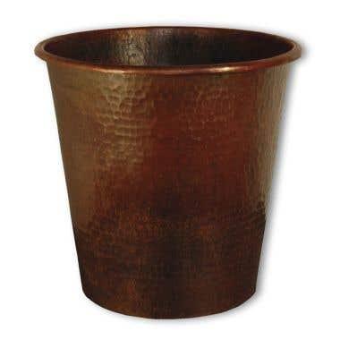 Native Trails Copper Waste Basket