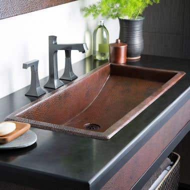 Native Trails 30 Inch Trough Bath Sink