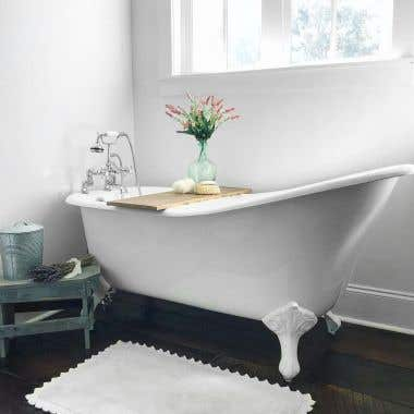 Charlotte Cast Iron Slipper Clawfoot Tub